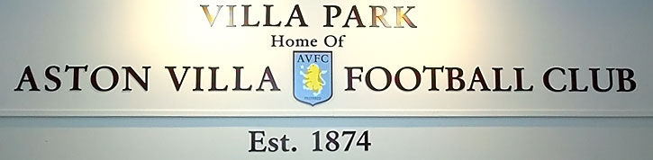 Villa Park - Home of Aston Villa FC